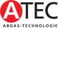 logo ATEC Abgas-Technologie, Vertretung cooperation Bartholet AG für Abgassysteme